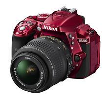 Spiegelreflexkamera Nikon D5300 ROT 24,2 MP DSLR-KIT mit AF-P 18-55/3,5-5,6 VR