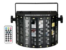 JEU DE LUMIERE ASTAR III - TRIPLE DERBY 4 x LED RVBB 3 W - PILOTAGE DMX 4 CANAUX