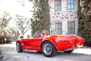 1965 SHELBY COBRA CONVERTIBLE  v8 AUTO amazing