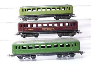 Piko-H0-2-Pieces-vieux-D-Locomotive-de-traction-2nde-classe-Voiture-lit-MITROPA