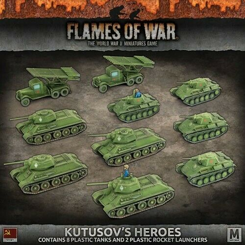 FOW - SUAB10 - KUTUSOV'S HEROES - BNIB