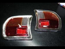 Treser Rückleuchten-Gläser-Set mit Chromrahmen passend für Peugeot 504