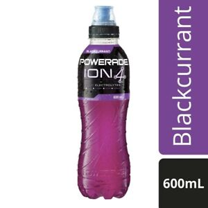 Powerade Blackcurrant Sports Drink 600mL