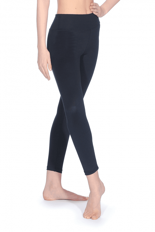 ROCH VALLEY ACCENT CHILDS AGE 9-10 YEARS LEGGINGS BLACK NEW BNWT DANCE CLOTHING