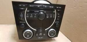 Radio 6CD MAZDA RX8 mit 6CD Wechsler BOSE 2006 Bj. mit Mitte PANEL