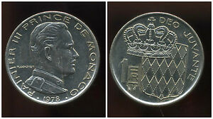 Intelligent Monaco 1 Franc 1978 ( Bis )