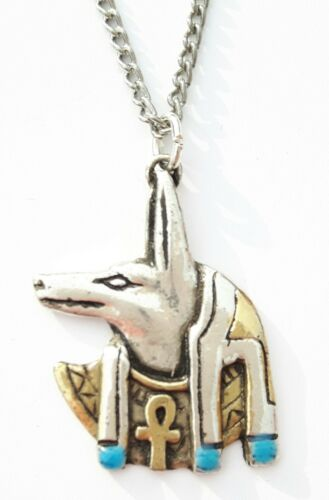 JEWELS OF ATUM RA PENDENT EGYPTIAN ANUBIS