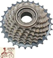 SHIMANO TZ21 14-28T 7-SPEED BROWN MTB-HYBRID-CRUISER BICYCLE FREEWHEEL