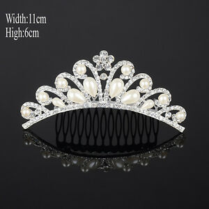 Bridal-Elegant-Crystal-Pearl-Princess-Hair-Tiara-Wedding-Crown-Pageant-Headband