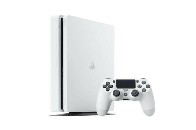 Sony PlayStation 4 Slim 500GB Glacier White Console
