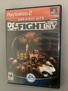 Def Jam: Fight for NY (PlayStation 2, PS2) Greatest Hits Complete Tested READ