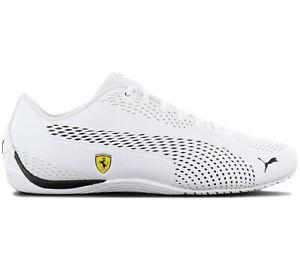 Puma-Scuderia-Ferrari-Sf-Drift-Cat-5-Ultra-II-306422-04-White-Motorsport-Shoes