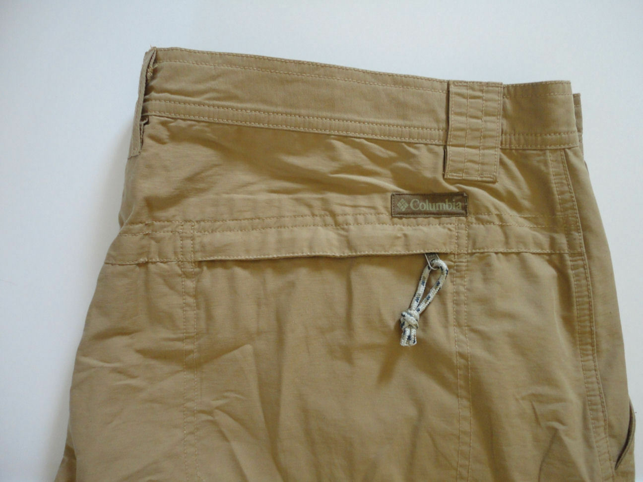Columbia Omni Shade Trail Pants in Delta Brown 44W x 32L FREE SHIPPING NWOT