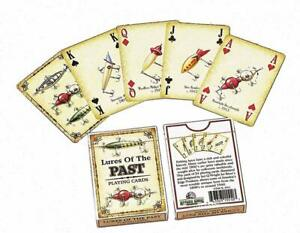 Lures-Of-The-Past-Playing-Cards-Single-Deck-Rivers-Edge-Fishing-New-Sealed-1550