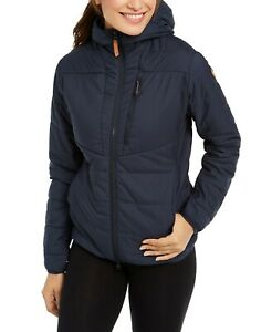 Fjall-Raven-Womens-Keb-Hooded-Padded-Jacket-Size-Small