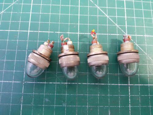 Military Panel Lamp holder Aircraft Instrument Pilot Light  No Bulb