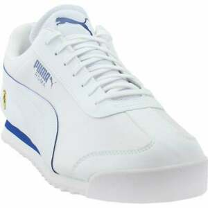 Puma-Roma-X-Sf-Lace-Up-Mens-Sneakers-Shoes-Casual-White