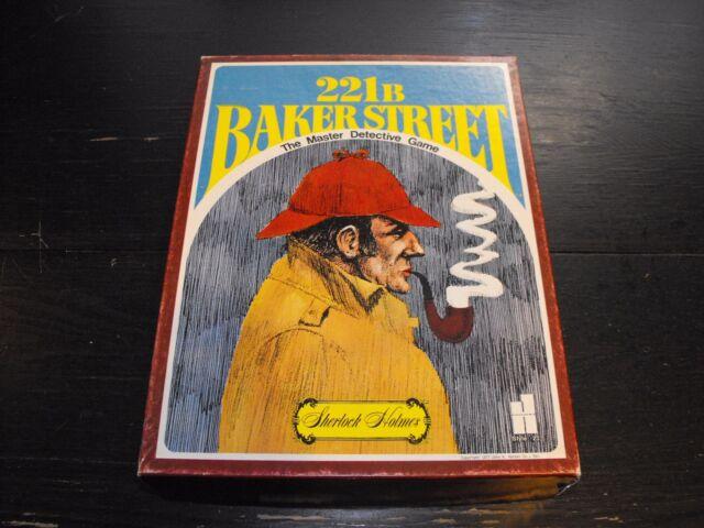 Vintage 1977 221B Baker Street -The Master Detective Game - John H. Hansen #23