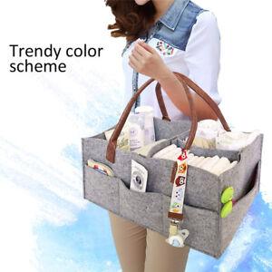 Baby Nursery Bin Diaper Caddy Portable Diaper Wipes Storage Caddy Organizer