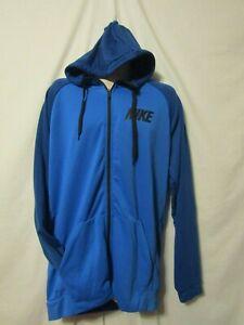 mens-nike-dri-fit-hoodie-jacket-4XLT-nwt-60-full-zip-blue-on-blue