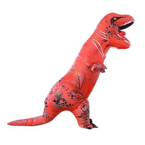 ADULT T-REX INFLATABLE Jurassic World Park Blowup Dinosaur TRex T Rex Costume