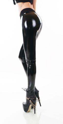 Women/'s Thermal Legging Pants Legging Wet Look Patent Leather Look Black Jeans