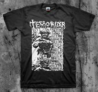 Terrorizer 'fear Napalm' T Shirt (napalm Death Repulsion Brutal Truth Autopsy)