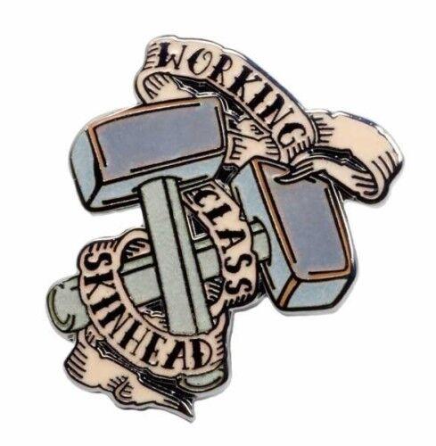 Working Class Skinhead pin Metallanstecker