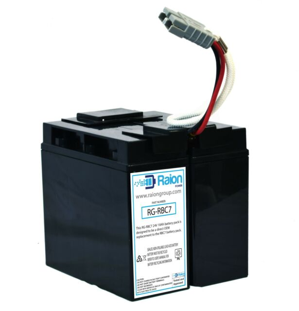 SPS Brand Complete Wire Harness with Terminal Covers and Fuse for APC RBC11 RBC11 Battery Cartridge 16 Pack