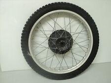 Yamaha DT400 DT 400 Enduro #5164 Aluminum Front Wheel & Tire