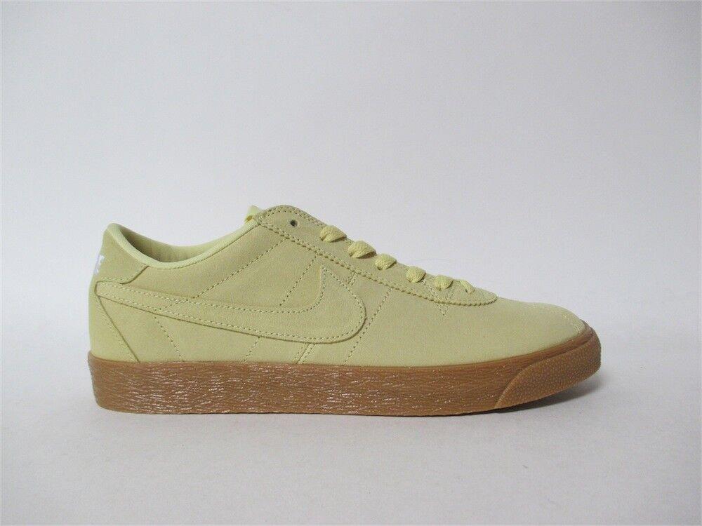 Nike SB Bruin Premium Lemon Wash Gum White Sz 9 877045-700