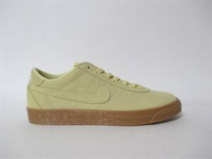 51d969a49785f4 Nike SB Bruin Premium Lemon Wash Gum White Sz 10.5 877045-700