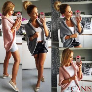 Women-Long-Sleeve-Sweater-Top-Casual-Irregular-Knitted-Cardigan-Outwear-Coat