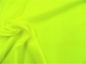 495708ddb9 Image is loading Bullet-Textured-Liverpool-Fabric-4-way-Stretch-Neon-