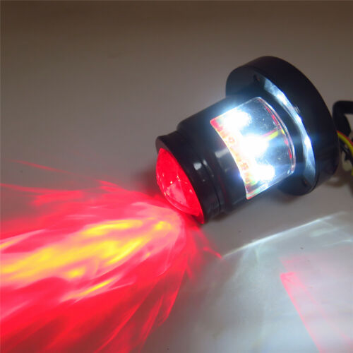 Black Custom LED Tail Light Integrated Fit Bobber Chopper Cruiser Street Bike
