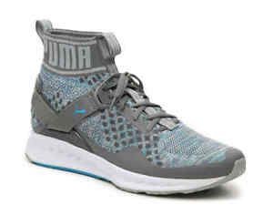 NEW-PUMA-Mens-Ignite-Evo-Knit-Athletic-Trainer-Shoes-189697-Quiet-Shade-Blue-8-5