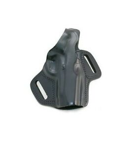 Details about Galco Belt Holster Leather Fletch High Ride FL218B Black  Right New Duty Belt