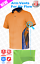 3x-HI-VIS-POLO-Shirts-NEW-PIPING-PANEL-WORK-WEAR-COOL-DRY-SHORT-SLEEVE thumbnail 5