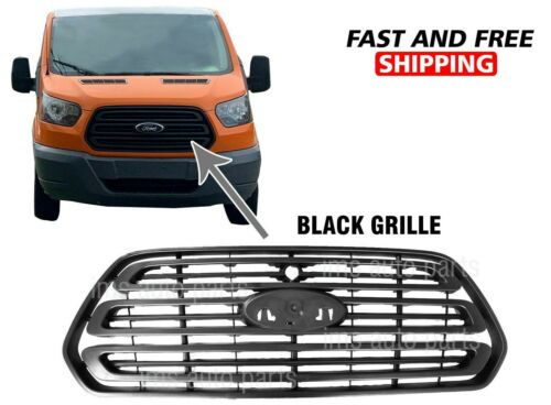 Ford Transit 1500 2500 3500 Front Grille Radiator W Camera Hole Color 2014-2019