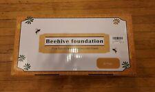 30 Pack Honeycomb Wax Frames Beekeeping Honey Hive Foundation Equipment Bee