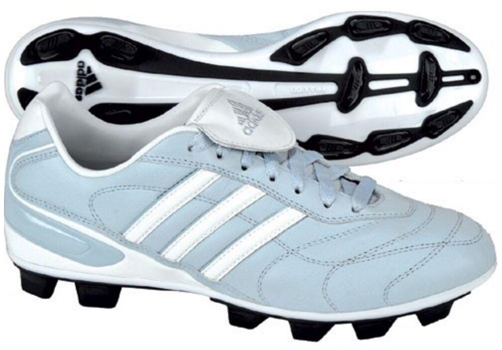 Adidas Volea II TRX FG Women's Soccer Football Cleat bluee & White Size 5.5 or 6