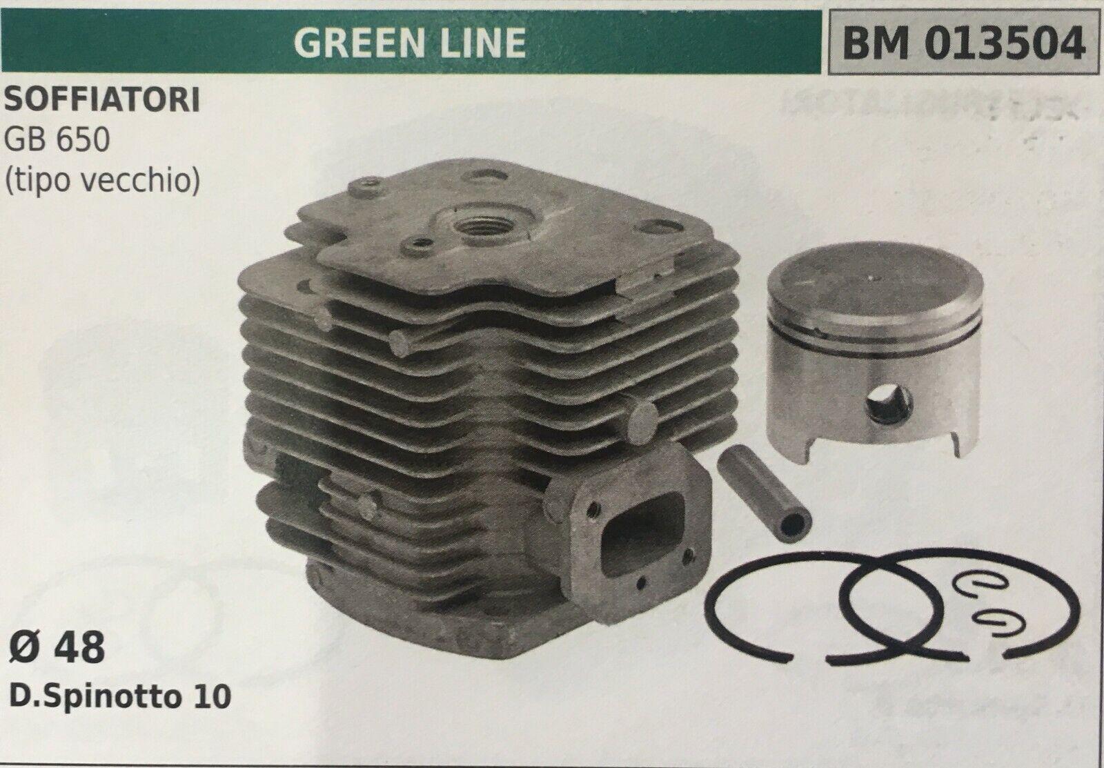 Cilindro Completo por Pistón y Segmentos Brumar BM013504 verde Line