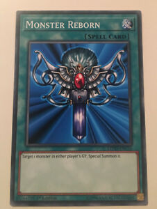 LEHD-Monster Reborn - Common Card - 1st Edition YuGiOh - NEW