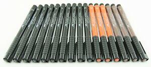 Faber Castell Pitt Artist Pens 16pc Assorted Set M F S XS C Black Sanguine