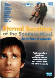 Dvd-Eternal-Sunshine-Se-mi-lasci-ti-cancello-Steelbook-2-dischi-Usato