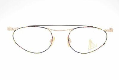 Vintage Golden Gate 972 50 [] 20 135 Oro/colorato Ovale Occhiali Eyeglasses Nos-