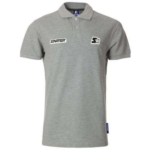 Starter Falcon Mens Short Sleeve Polo Neck Tops Cotton Shirts CPE00038 K
