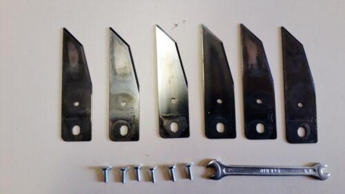 ALKO EFCO solo de rechange couteau 6 couteau mähroboter robomäher robolino sirius Brill