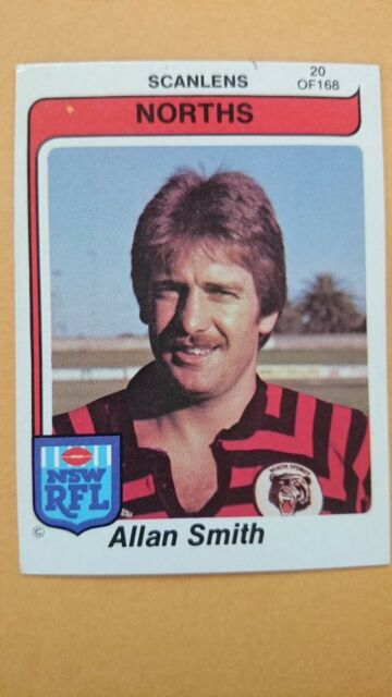 Scanlens Rugby League 1980 #20 Allan Smith
