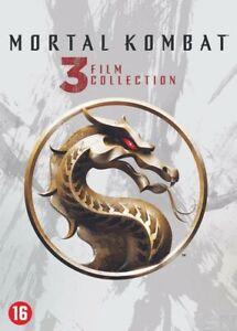 DVD - 3 FILM COLLECTION MORTAL KOMBAT   (NIEUW - SEALED)
